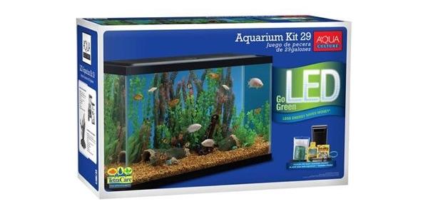 aqua culture starter kit 29 gallon aquarium