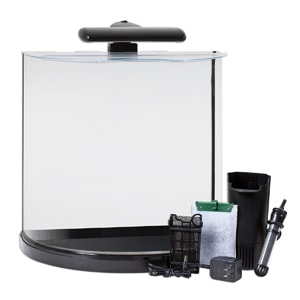 Tetra 29234 Half Moon Aquarium Kit